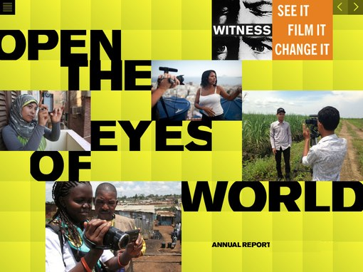 WITNESS annual report