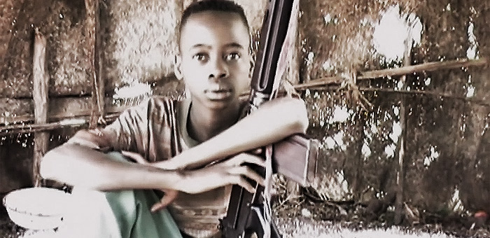 Video Still: Lubanga Child Soldier Video