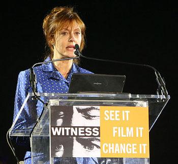 Susan Sarandon at FFC Benefit