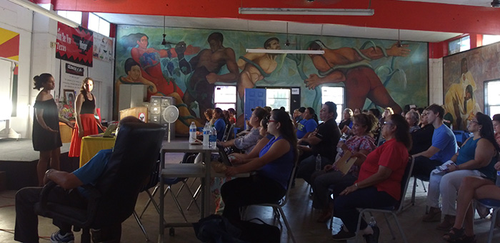 WITNESS training in Rio Grande Valley, Texas, September 2018